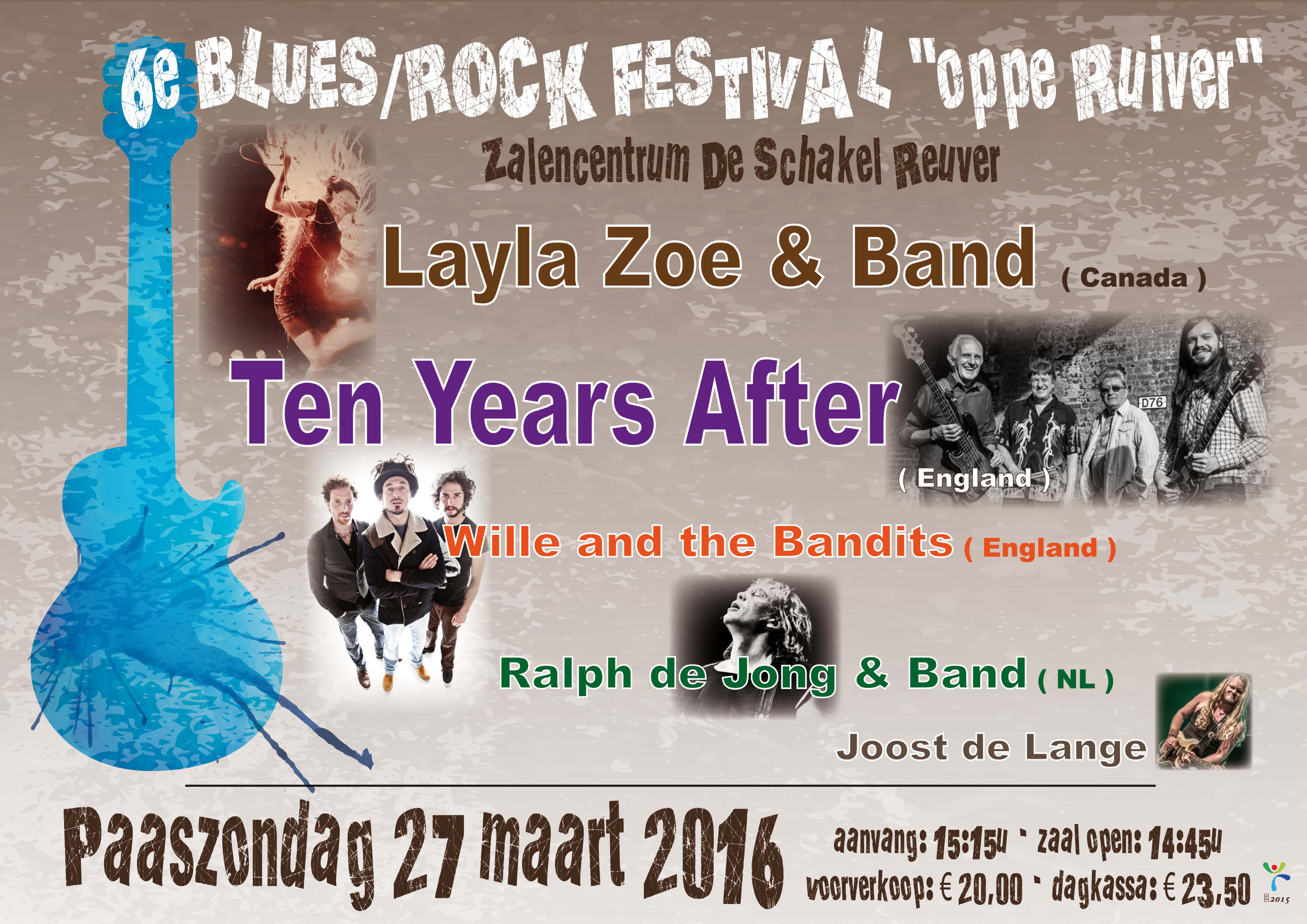 Reuver Blues Rock 2016